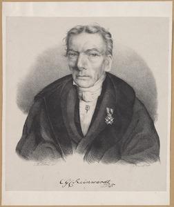 Portret van Caspar Georg Carl Reinwardt (1773-1854)