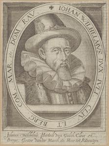 Portret van Johann Wilhelm hertog van Gulik, Kleef en Berg (1562-1609)