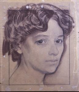 Portret van Bertha L. (1882-1955)