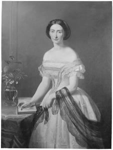 Portret van Francina Christina Henriette Maria van Heeckeren (1826-1861)