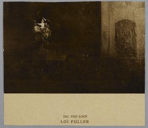 Loï Fuller op het toneel