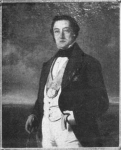Portret van Pieter van Rees (1806-1865)