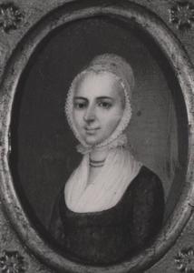 Portret van Hendrika Sara Lamberts ( -1830)