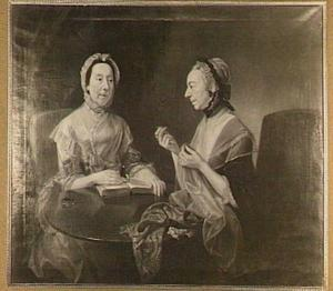 Portret van de dames Toriano