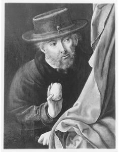 De H. Jozef met een peer (fragment)