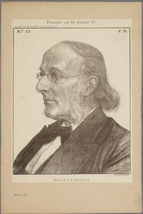 Portret van Prof. A.H.G.P. van den Es