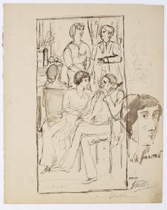 Lisa Laurent in gesprek met galerist Alfred Flechtheim