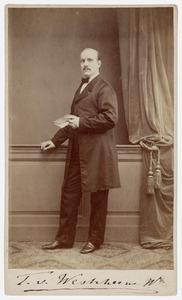 Portret van Tobias van Westrheene (1825-1872)
