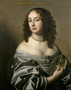 Portret van Sophia van de Palts (1630-1714), 5de dochter van Frederik V van de Palts