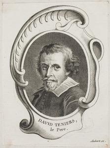 Portret van David Teniers I (1582-1649)