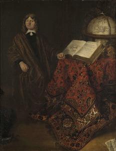 Portret van een man, genaamd Cornelis Jansz. Meijer (1629-1701)