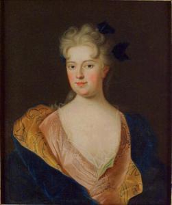 Portret van Madame Anna Potocki Palatine de Chiovie, 1699-1717? (zuster van Lodewijk XIV's Consort?)