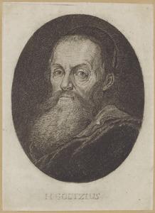 Portret van Hendrick Goltzius (1588-1617)