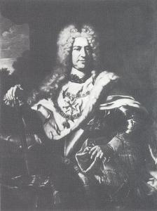 Portret van Carl III Philip van Palts-Neuburg, keurvorst van de Palts