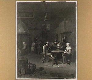 Gasten in een herberg