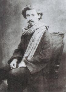 Portret van Jan Verhas (1834-1896)