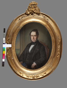 Portret van Hans Willem van Aylva baron van Pallandt (1804-1881)