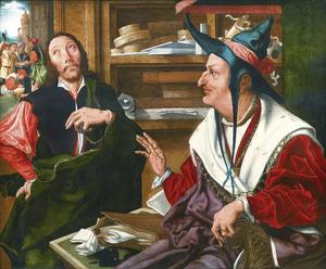 De gelijkenis van de onrechtvaardige rentmeester (Luc. 16: 1-9)