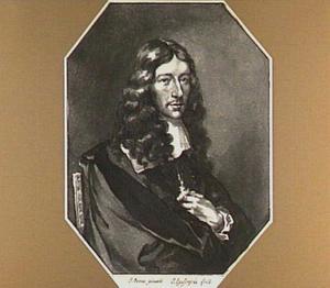Portret van de kunstenaar Jan de Bisschop (1628-1671)