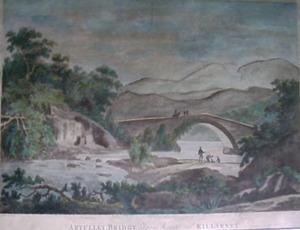 Artully Bridge between Kenmare and Killarney