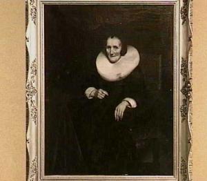 Portret van Margaretha de Geer (1585-1672)