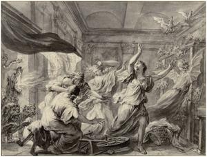 De dochters van Mynias in vleermuizen veranderd (Metamorfosen 4:399)