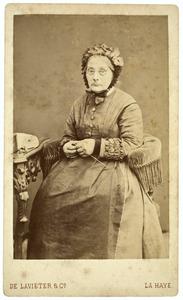 Portret van Vennige Schawalder ( -1885)