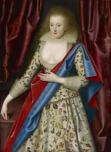Portret van Lady Thornhagh (ca. 1600-1660)