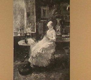 Portret van Annie Toorop-Hall