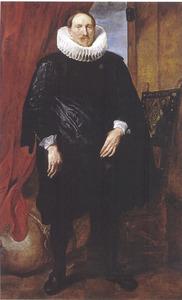 Portret van een man, mogelijk een lid van de familie Vinck/Vincque