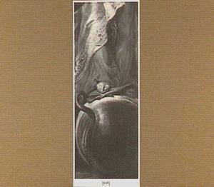 Maria Immaculata staande op de wereldbol