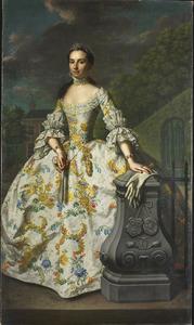 Portret van Charlotte Beatrix Strick van Linschoten (1732-1795)