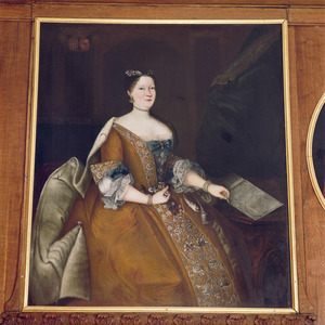 Portret van Anna Margaretha Josepha gravin van Renesse (1703-1777)