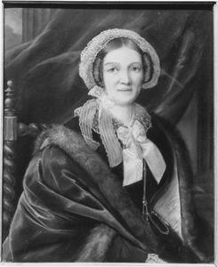 Portret van Marie Isabelle Anne Josine Charlotte Taets van Amerongen (1802-1859)