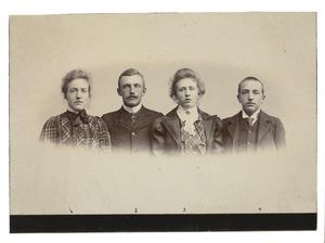 Portret van de kinderen van Wolter Gerard van der Wyck (1847-1914)