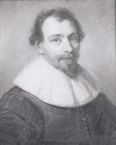 Portret van Arent Kievit gez. Bischop (1589-1644)