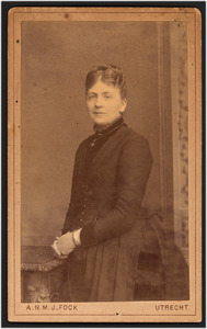 Portret van Maria de Stoppelaar Blijdesteijn (1853-1936)