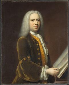 Portret van een man, waarschijnlijk Cornelis Troost