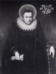 Portret van Willemina Hinckaert (  -1624)