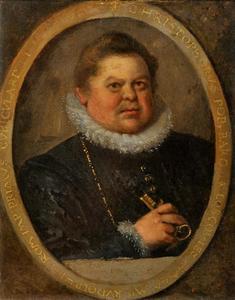Portret van Krystof Popel z Lobkowicz (1549-1609)