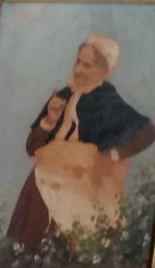 Portret van Wilhelmina Gerretje ('Mina') Sablairolles (1818-1891)