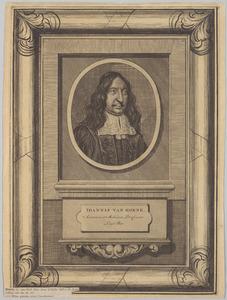 Portret van Johannes van Horne (1621-1670)