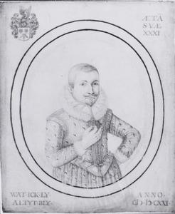 Portret van Adriaan van Blijenburg (1589-1630)
