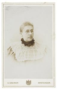 Portret van Anna Maria Lucia Canters (1873-...)