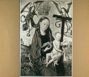 Maria met kind. Het kind draagt als attribuut het kruis