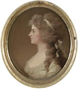 Portret van Henriette Christine Alexandrine Torck (1764-1792)