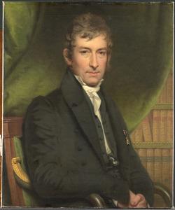 Portret van Johan Fraser (1780-1843)