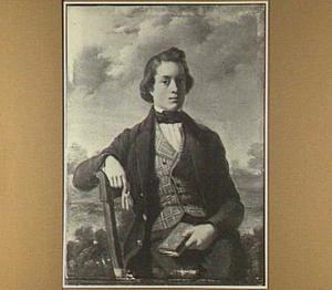 Portret van Jacques Taeckens als jongeman