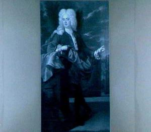 Portret van Johan van Riebeeck (1691-1735)