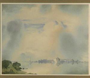 Vroege morgen aan de IJssel